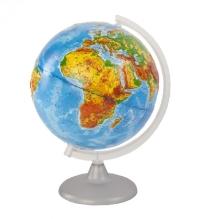 Глобус 250 мм физический рельефный 10176